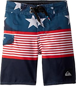 Quiksilver Kids - Division Independent Boardshorts (Toddler/Little Kids)
