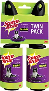 Scotch-Brite Pet Hair Roller, Twin Pack