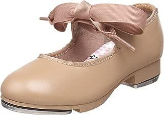 Capezio girls Jr. Tyette Tap Shoe, Caramel, 1 M US Little Kid