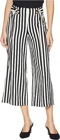 Bold Stripe Mixi Pants