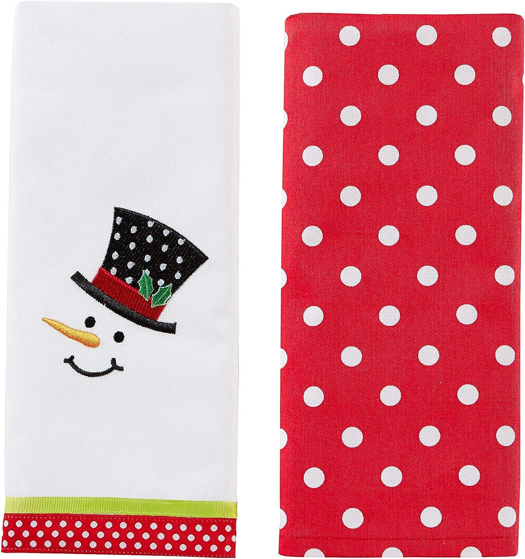 SKL Home by Saturday Knight Ltd. Dish Towel Snowman Ranking TOP15 Trust 2-Piece Face