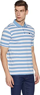 Amazon Brand - Symbol Men's Solid Regular fit Half Sleeve Polo