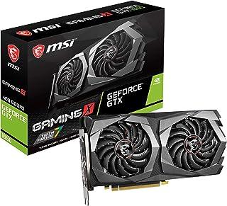 MSI Nvidia GeForce GTX 1650 Gaming X 4G - Tarjeta gráfica (4 GB, GDDR5, 1860 Hz, 2 DisplayPort, HDMI, Sistema de refrigeración con Doble Ventilador