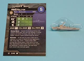 Axis /& Allies War at Sea Surface Action HMCS Algonquin 1//40