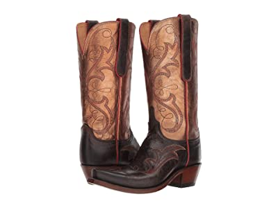 Lucchese Tansy (Chocolate/Bronze) Cowboy Boots