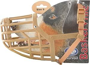 Company of Animals Baskerville Dog Muzzle, Size 9, Suitable for Dobermann German Shepherd.