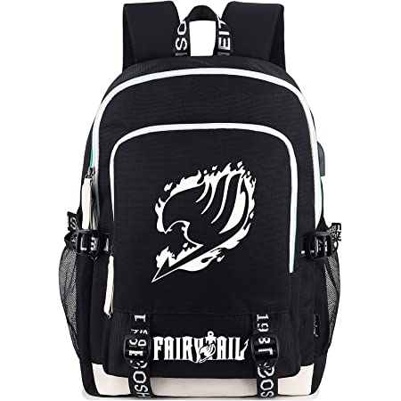 MPOX Fairy Tail Backpack-Kids Back to School Lightweight Backpack Wear-Resistance Rucksack Laptop Backpack for Teen