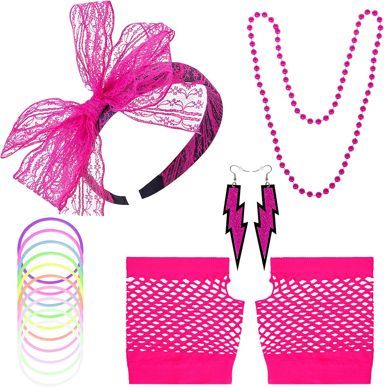 80s Costumes Many popular Max 78% OFF brands for Women Accessories Fishnet G with