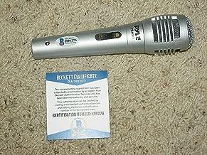 Jeff Keith Tesla Autographed Signed Memorabilia Microphone Beckett Coa