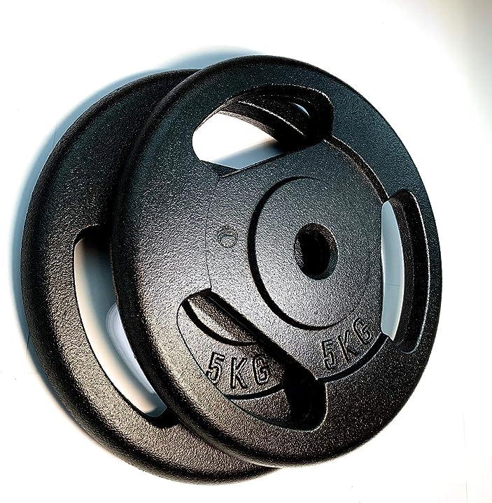 Pesi 5kg x 2 - ghisa (iron cast) gdc cast B08MPTVYMB