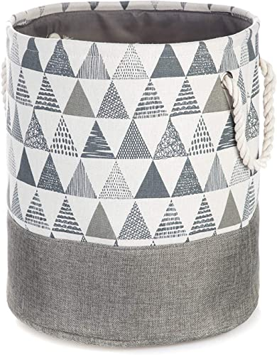 2021 Home Zone Living wholesale Storage Basket with Cotton Rope discount Handles sale
