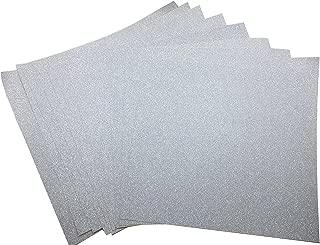 silver vinyl sticker