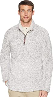 True Grit Men's Frosty Tipped Pile 1/4 Zip Pullover