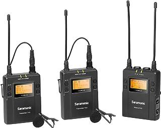 Saramonic UWMIC9TX9TX9RX9 Camera External Microphone Digital & Camcorder - Black