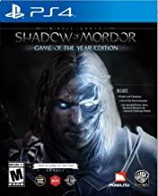 WB Games Middle Earth: Shadow of Mordor Game of The Year - Playstation 4