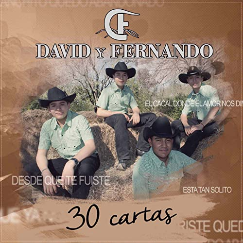 30 Cartas by David Y Fernando on Amazon Music - Amazon.com