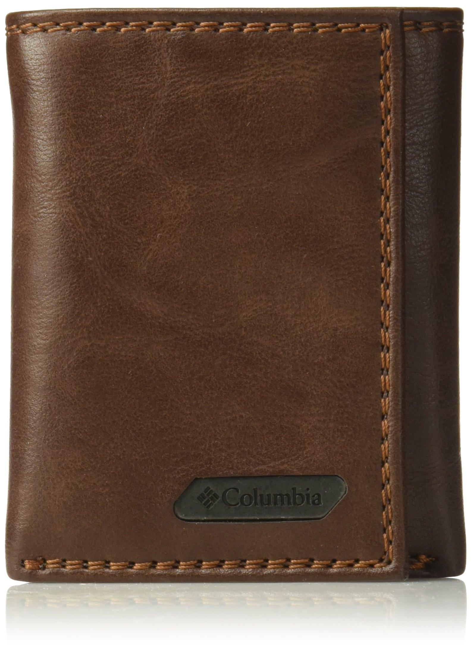 Columbia Blocking CapacityTrifold Wallet brown