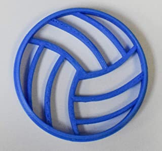 Volleyball sport cookie cutter fondant letter special occasion 3D Printed PR270