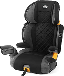 Chicco KidFit Zip Plus 2-in-1 Belt Positioning Booster Car Seat - Taurus, Black/Grey