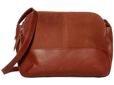 ABLE Meron Crossbody (Whiskey) Handbags