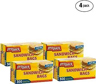 Best sandwich bag dimensions Reviews