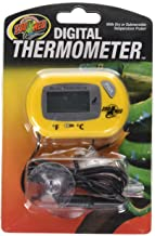 Best zoo med digital thermometer battery Reviews