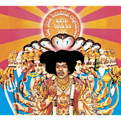 94f27183f Axis  Bold As Love by The Jimi Hendrix Experience on Amazon Music ...