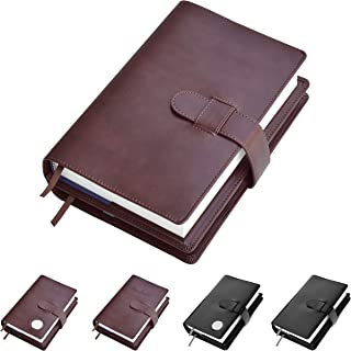 Double AA Big Book Cover & 12 Steps & 12 Traditions | by Galileo | Perfect Gift | Alcoholics Anonymous (Plain/Brown)