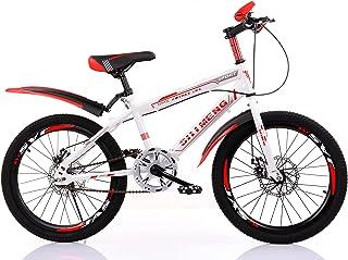"YFNIAO Disc Brake Youth Mountain Bike 20"", Red, Size L"