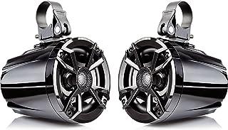 "NOAM N5 - Pair of 5.25"" UTV/Golf Cart Marine Speakers with Passive Radiator (Pair of Passive Speakers. not Including Amplifier)"