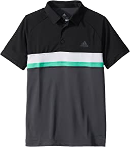 adidas Kids - Club Color Block Polo (Little Kids/Big Kids)