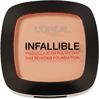 L'Oreal Paris Infallible 24H Compact Powder Foundation - 0.31 oz., 160 Sand Beige