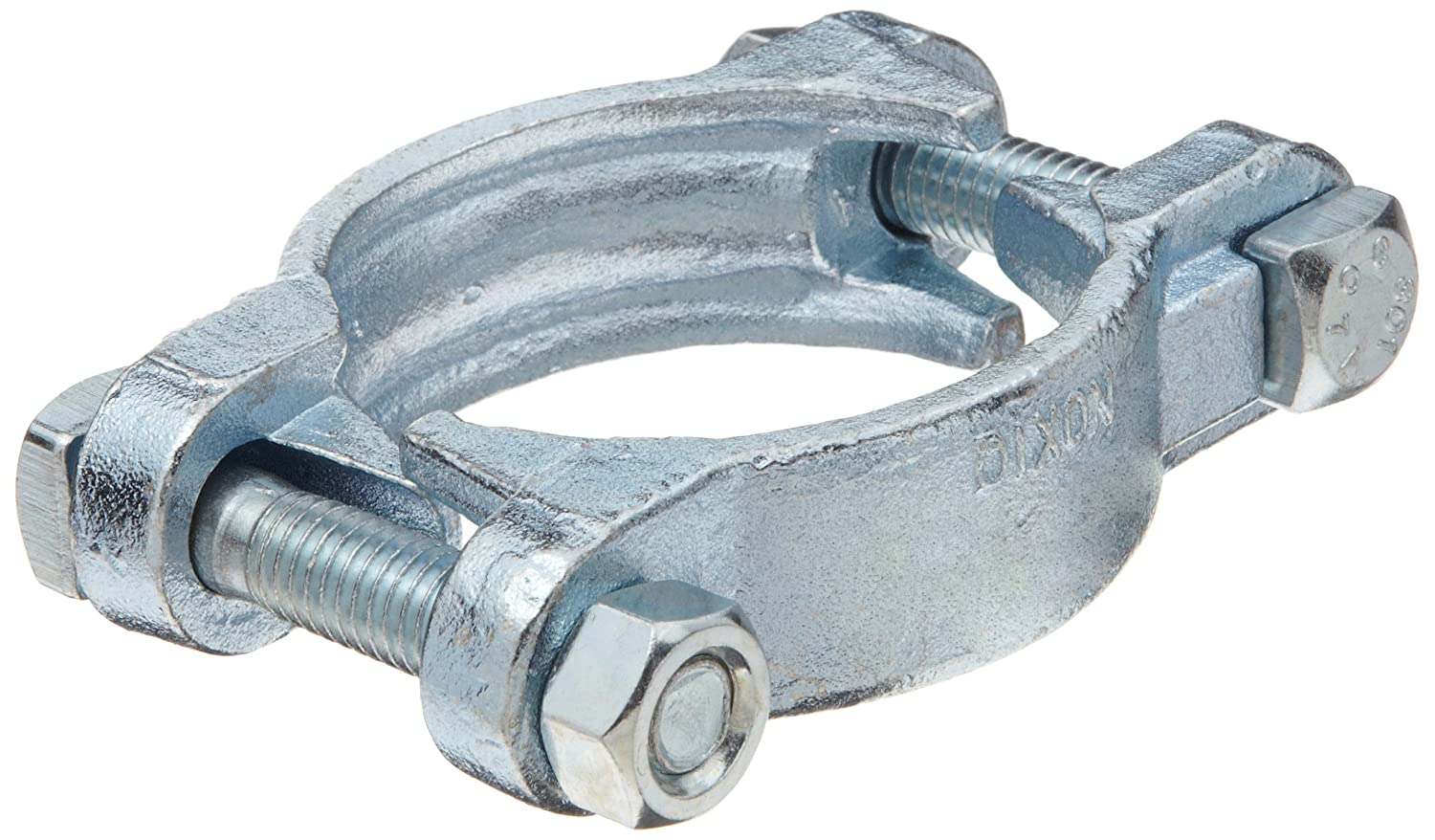 0.748 Closed x 0.906 Open Range, Dixon 2023 Zinc Plated Steel Double-Ear Pinch-On Hose Clamp 7//8 Diameter Pack of 100