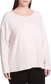 Calvin Klein Performance Womens Fitness Workout Sweatshirt Pink 2X
