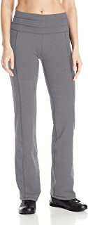 prAna Women's Contour Pants with Tall Inseam Large Grey