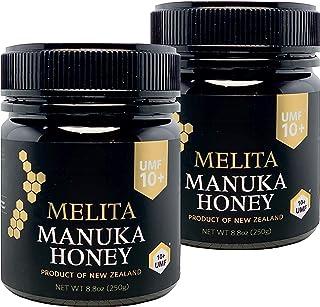 functia(ファンクティア) MELITA マヌカハニー【UMF10+】250g x 2本【お得に2本セット】抗菌活性マヌカハニー(アクティブマヌカ)『抗菌作用格付け UMF10+ = MGO263〜MGO513に相当』Manuka Hon...