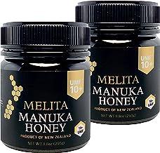 MELITA マヌカハニー【UMF10+】250g x 2本【お得に2本セット】抗菌活性マヌカハニー(アクティブマヌカ)『抗菌作用格付け UMF10+ = MGO263〜MGO513に相当』Manuka Honey UMF10+ 250g x 2pcs