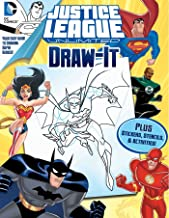 DC Justice League: Draw It (5) (LOVE TO DRAW)