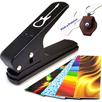 21 Strip Party Pack Volume 2 Make up to 105 Guitar Picks Using a Pick Puncher Guitar Pick Punch Sheets