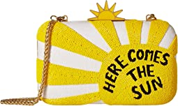 Alice + Olivia - Shirley Here Comes The Sun Large Clutch