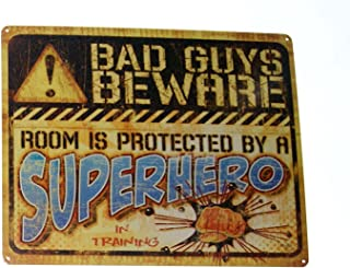 Bad Guys Beware Room is Protected by a SUPERHERO in Training Novelty Fun 15