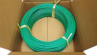 日本製線 高性能ギガビット伝送対応LANケーブル (Cat5e) 100m巻(緑色) 0.5 - 4P NSEDT (DG) (100)