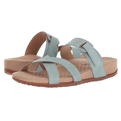 SoftWalk Brimley (Aqua Sandal Leather) Women
