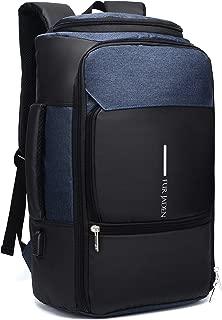 Fur Jaden Navy Unisex Casual Backpack Bag with USB Charging Port