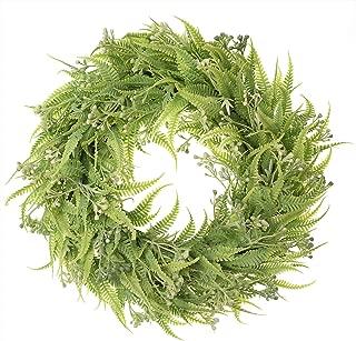 Best artificial fern wreath Reviews