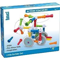 PlayMonster Lauri Action Stackers Little Builder Set