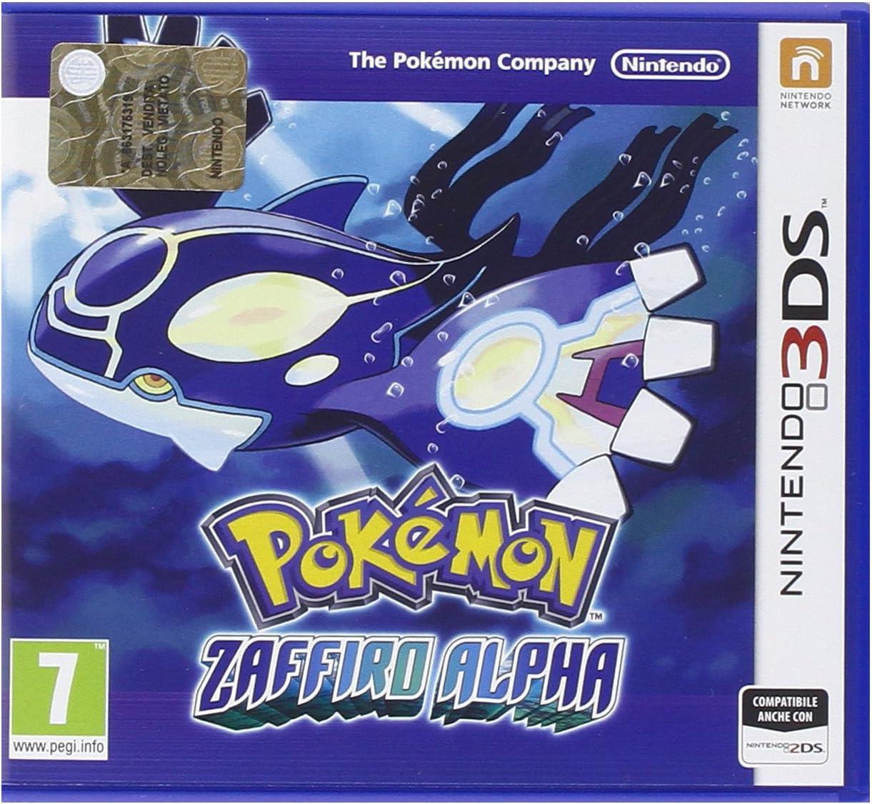 Pokemon Alpha Detroit Mall Max 82% OFF Sapphire 3DS