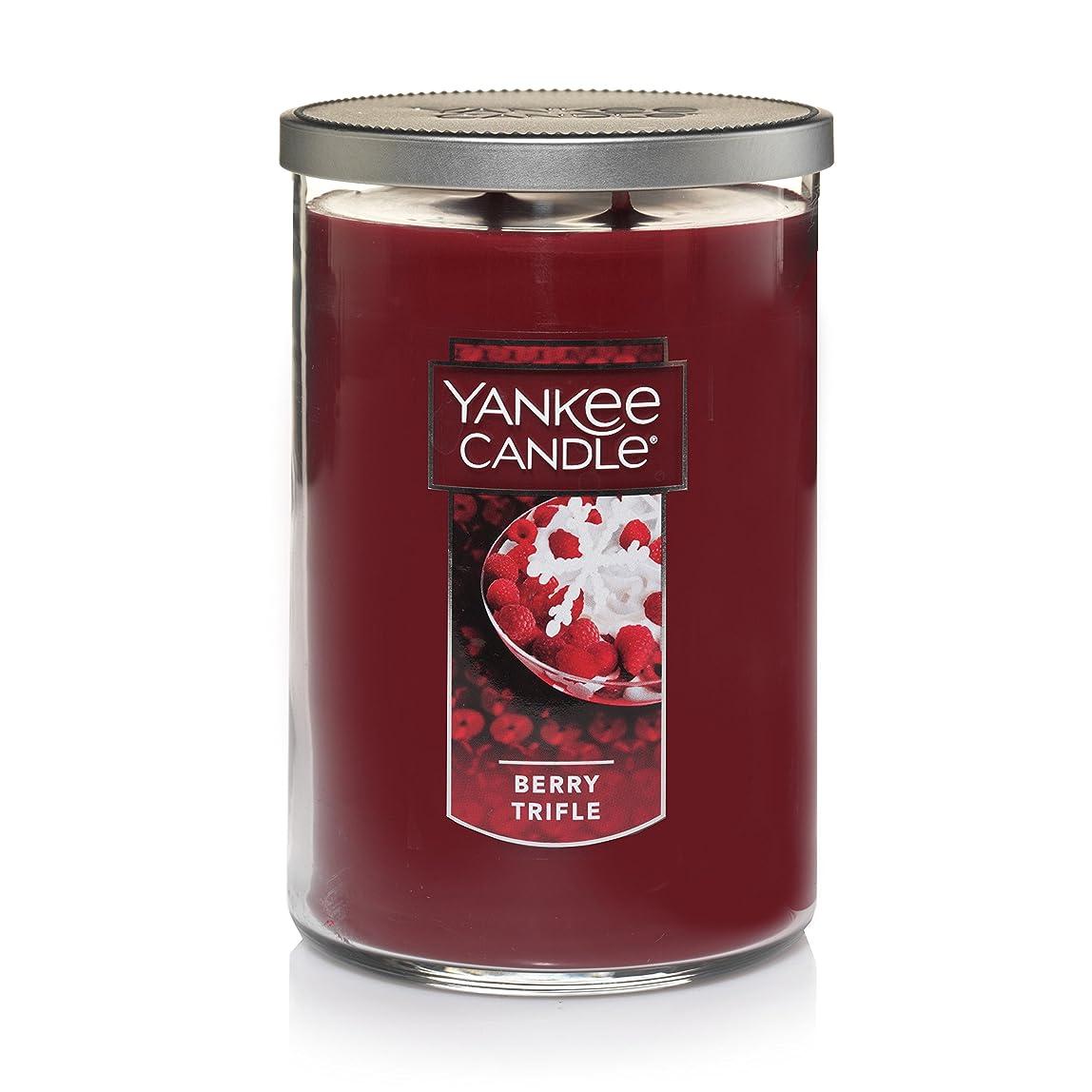 ぼんやりしたの乙女Yankee Candle Large Jar Candle Large 2-Wick Tumbler Candle レッド 1342528