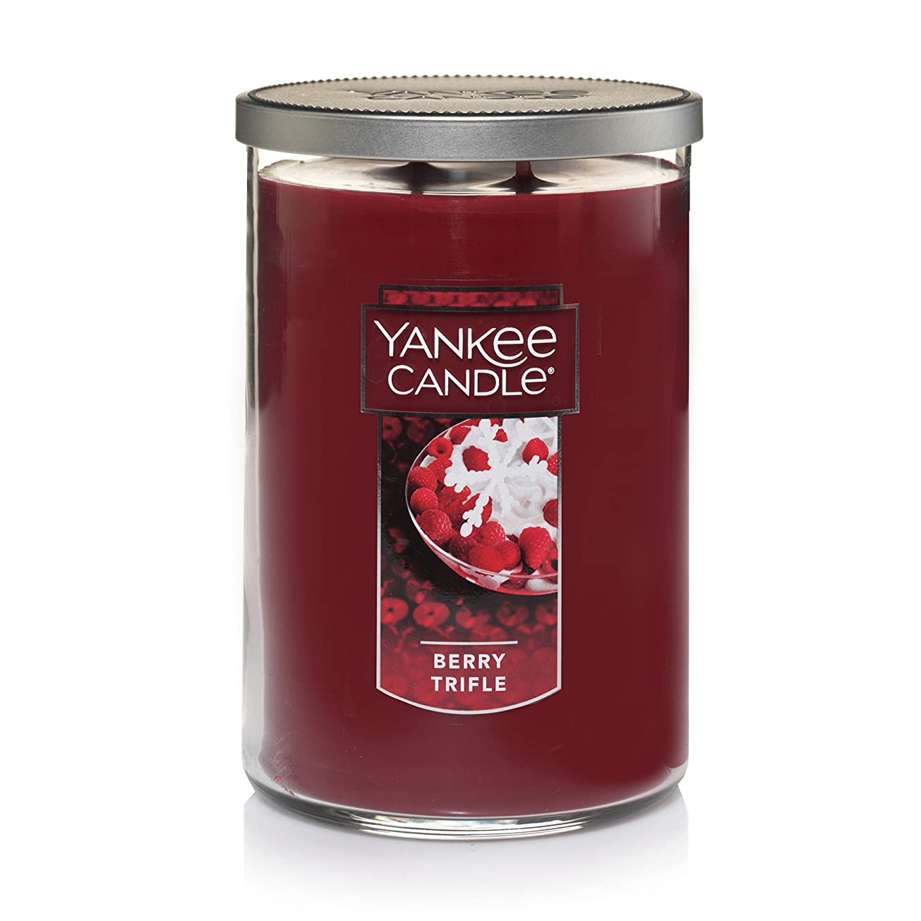 サラミ気味の悪い投票Yankee Candle Large Jar Candle Large 2-Wick Tumbler Candle レッド 1342528