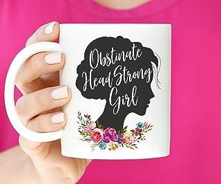 Kaffeetasse Hartnackiges Eigenwilliges Madchen Jane Austen Zitat Buchliebhaber Geschenk Stolz Und Vorurteil Literarisches Geschenk Feministisches Geschenk Einzigartiges Geschenk Neuheit Kera Amazon De Kuche Haushalt